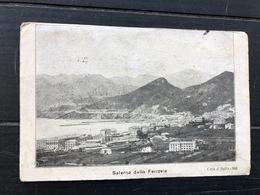 SALERNO DALLA FERROVIA  1918 - Salerno
