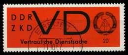 DDR DIENST VD Nr 3y Gestempelt X7382EE - [6] Repubblica Democratica
