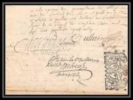 40099/ Généralité De Riom Auvergne Devaux N°259 Indice 8 21 Juin 1714 + Contremarque Lettre Parchemin Timbre Fiscal - Marcophilie (Lettres)