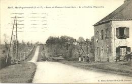 MONTGERMONT  -- Route De Rennes, La Côte De La Bégassière               -- Mary-Rousselière 3967 - Autres Communes