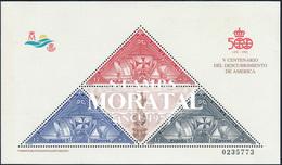 1992 Spanien  Mi Block42 Entdeckung Amerika  VII Amerika ** Perfekter Zustand, Postfrisch   (Michel) - 1991-00 Neufs