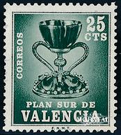 1968 Spanien  Mi 0 Heiliger Gral Religiös ** Perfekter Zustand, Postfrisch   (Michel) - Wohlfahrtsmarken