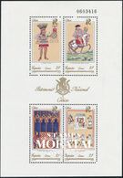 1992 Spanien  Mi Block52 Block-Nationalerbe IV Tourismus ** Perfekter Zustand, Postfrisch   (Michel) - 1991-00 Neufs