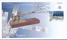 2014 Spanien  Mi 4865 High School Telegraphie  Ersttagsbrief  Guter Zustand (FDC)  (Michel) - FDC