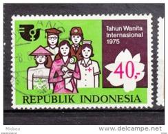 Indonésie, Indonesia, Année Internationale Des Femmes, Women Year, Infirmière, Nurse, Croix-rouge, Red Cross - Medicine