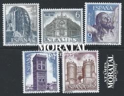 1982 España  Ed 2676/2680 Paisajes II Paisajes **MNH Perfecto Estado, Nuevo Sin Charnela  (Edifil) - 1931-Heute: 2. Rep. - ... Juan Carlos I