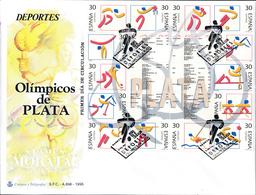 1995 España  Ed 3364/3377 Bloque Olimpicos Plata Juegos Olimpicos SPD Buen Estado (FDC)  (Edifil) - FDC