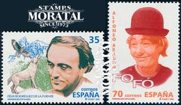 1998 España  Ed 3546/3547 Fofó Y Felix Rodriguez Personajes **MNH Perfecto Estado, Nuevo Sin Charnela  (Edifil) - 1991-00 Unused Stamps