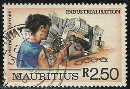 Mauritius SG774 1987 Industrialisation 2r.50 Good/fine Used [7/8671/1D] - Mauritius (1968-...)