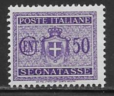 Italy Scott # J47 Mint Hinged Postage Due, 1945 - 5. 1944-46 Lieutenance & Umberto II