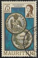 Mauritius SG537A 1978 Definitive 75c Good/fine Used [40/32927/1D] - Mauritius (1968-...)