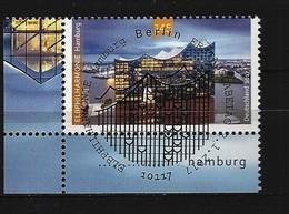 BUND Mi-Nr. 3278 Eckrandstück Links Unten - Eröffnung Der Elbphilharmonie, Hamburg Gestempelt - BRD