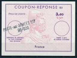 Französische Feldpost In Deutschland  /  P.A.A.. 511    (Freiburg) -  Type XII   -  ...  3,30  -  Reply Coupon Reponse - Antwortscheine