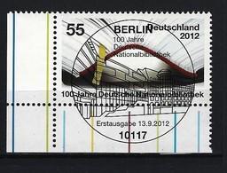 BUND Mi-Nr. 2956 Eckrandstück Links Unten Gestempelt - BRD