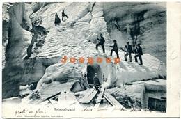 Postkarte Gabler  Mountaineering Alpinism Bergsteigen Grindelwald Schweiz - Alpinismo