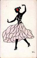 ! Alte Anichtskarte Grazie Im Tanz, H. Lang, Dance, Danse - Baile