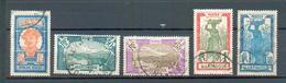 MART 510 - YT 122 à 133 - 125 - 127 ° Obli - Martinique (1886-1947)