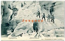 Postkarte Photo Gabler Interlaken Grindelwald Gletscherberteigung Mountaineering Alpinism Schweiz - Alpinismo