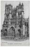 AMIENS - N° 351 - LA CATHEDRALE - FACADE - CPA NON VOYAGEE - Amiens