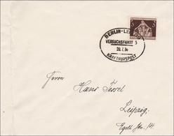 III. Reich: Brief Berlin Nach Leipzig:Stempel VERSUCHSFAHRT KRAFTKURSPOST 1936 - Deutschland