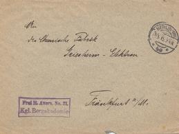 Bergbau: Bergakademie Berlin, Bergrat Nach Frankfurt 1915 - Deutschland