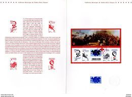 """FRANCE 2009 """" CROIX-ROUGE 2009 / DUNANT """"  Sur Document Philatélique Officiel De 4 Pages. N°YT F4386. Parfait état ! DPO - 2000-2009"""