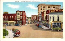 Tennessee Johnson City Main Street Looking East - Johnson City