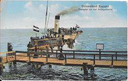 Ostseebad Zoppot - Dampfer An Der Anlagestelle - Polen