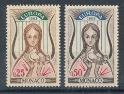 Monaco N°618 Et 619** Europa 1963 - Monaco