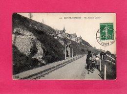 76 Seine Maritime, SAINTE-ADRESSE, Rue Gustave Lennier, Animée, Villas, 1911, (E. L. D.) - Sainte Adresse