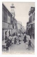 Algérie Philippeville N°13 La Rue De Constantine Et Le Marché Animé Nombreux Personnages En 1915 Tony Deviegue éditeur - Skikda (Philippeville)