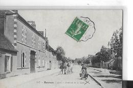 BOYNES  N 507  AVENUE DE LA GARE   PERSONNAGES CHEVAUX   DEPT 45 - France