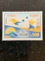 Syria 2019 World Beach Games Volleyball Stamp Mnh - Siria