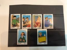 FRANCE 4051 / 4056 ** Neuf Sans Charnières Les Voyages De Tintin BD Comics Strips - Frankrijk