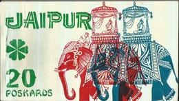 JAIPUR 20 POSKARDS  (92) - Cartoline