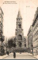 75 LES EGLISES DE PARIS N° 26  NOTRE-DAME DE LA CROIX - Churches