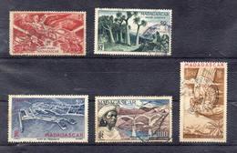 FRANCE  !  Timbres Anciens AÉRIENS De MADAGASCAR Depuis 1940 ! NEUF - Oblitérés