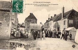 BRUNELLES Le Bourg Un Jour D'assemblée Le Lundi De La Pentecôte - Sonstige Gemeinden
