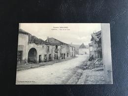 752 - Guerre 1914-1915 CREVIC Rue De La Cour - Other Municipalities