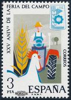 1975 Espagne  Yv 1906 Domaine Agriculture **SC TTB Très Beau, Neuf Sans Charnière  (Yvert&Tellier) - 1931-Today: 2nd Rep - ... Juan Carlos I