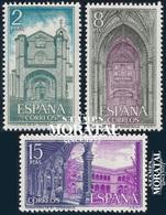 1972 Espagne  Yv 1765/1767 St. Thomas Monastères **SC TTB Très Beau, Neuf Sans Charnière  (Yvert&Tellier) - 1931-Heute: 2. Rep. - ... Juan Carlos I