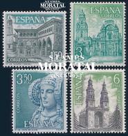 1969 Espagne  Yv 1589/1592 Touristique VI Tourisme **SC TTB Très Beau, Neuf Sans Charnière  (Yvert&Tellier) - 1931-Heute: 2. Rep. - ... Juan Carlos I