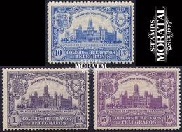 1927 Espagne  Yv 0 Palais Des Communications De Madrid  **SC TTB Très Beau, Neuf Sans Charnière  (Yvert&Tellier) - Wohlfahrtsmarken