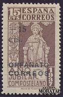 1938 Espagne  Yv 0 Santiago Apostol  *Ch TB Beau, Neuf Charnière  (Yvert&Tellier) - Wohlfahrtsmarken