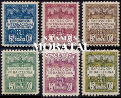 1929 Espagne  Yv 0 Bouclier De Barcelone. Exposition Armoiries **SC TTB Très Beau, Neuf Sans Charnière  (Yvert&Tellier) - Barcelona