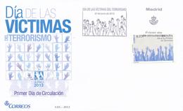 2013 Espagne  Yv 4505 Victimes Du Terrorisme Police Cachet (Premier Jour) TB Beau (FDC)  (Yvert&Tellier) - FDC