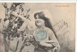 Illustrateur - BERGERET : Fille Des Champs - Bergeret