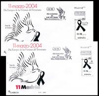 2004 Espagne  Yv 3646 Victimes Du Terrorisme Police Cachet (Premier Jour) TB Beau (FDC)  (Yvert&Tellier) - FDC