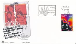 2001 Espagne  Yv 3346 Violence Domestique Police Cachet (Premier Jour) TB Beau (FDC)  (Yvert&Tellier) - FDC