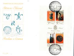 1991 Espagne  Yv BF-46 BF Patrimoine National Tourisme Cachet (Premier Jour) TB Beau (FDC)  (Yvert&Tellier) - FDC